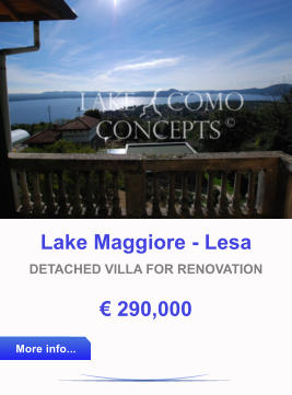 Lake Como Concepts, laax