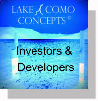 Investors and Developers - land and development opportunities on lake como