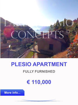 PLESIO APARTMENT FULLY FURNISHED € 110,000 More info... More info...