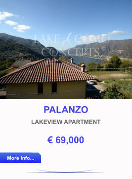 PALANZO LAKEVIEW APARTMENT € 69,000 More info... More info...